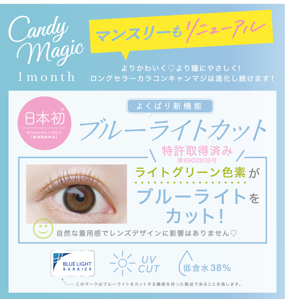 Candymagic1month リニューアル